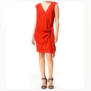 RACHEL ROY faux wrap November passion dress